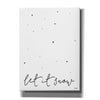 'Let It Snow' by Jaxn Blvd, Canvas Wall Art