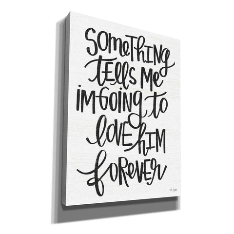 Image of 'Something Tells Me' by Jaxn Blvd, Canvas Wall Art