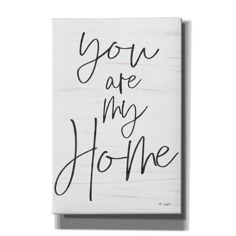 'You Are My Home' by Jaxn Blvd, Canvas Wall Art