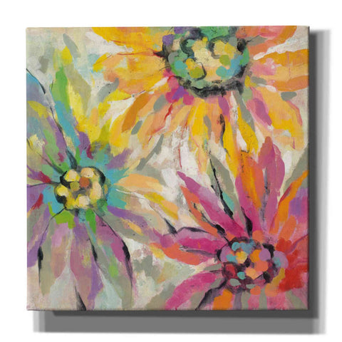 """Abstracted Petals I"" by Silvia Vassileva, Giclee Canvas Wall Art"