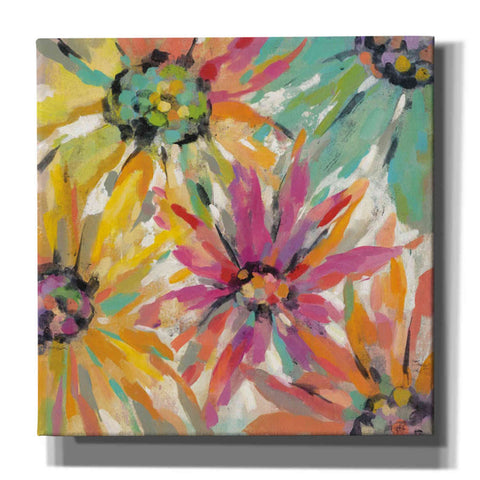 """Abstracted Petals II"" by Silvia Vassileva, Giclee Canvas Wall Art"