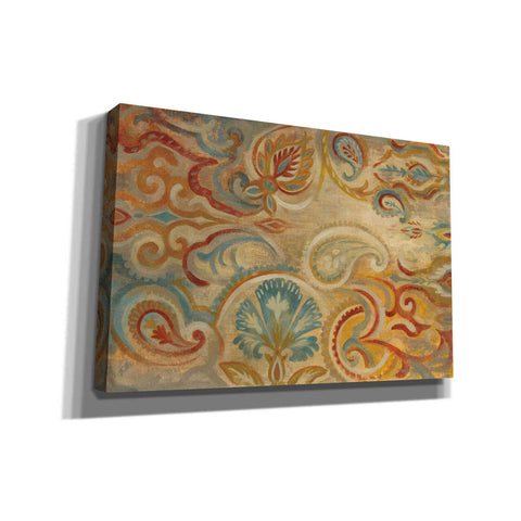 """Antique Paisley"" by Silvia Vassileva, Giclee Canvas Wall Art"