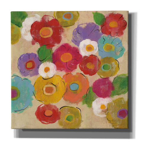 """Bohemian Bouquet II"" by Silvia Vassileva, Giclee Canvas Wall Art"