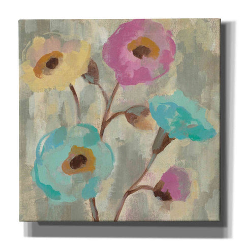 "Image of ""Fog and Flowers II"" by Silvia Vassileva, Giclee Canvas Wall Art"