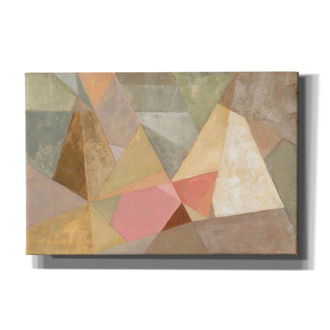 "Image of ""Geometric Abstract"" by Silvia Vassileva, Giclee Canvas Wall Art"