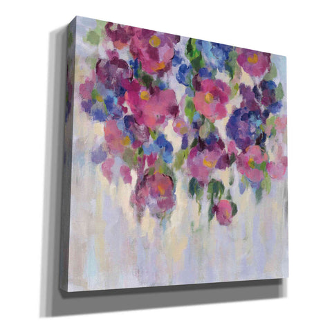 """Pink and Blue I"" by Silvia Vassileva, Giclee Canvas Wall Art"