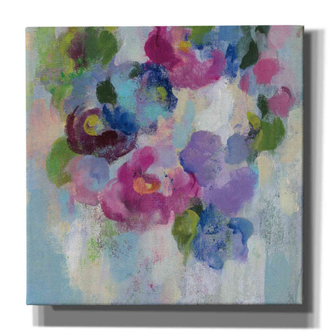 """Pink and Blue II"" by Silvia Vassileva, Giclee Canvas Wall Art"