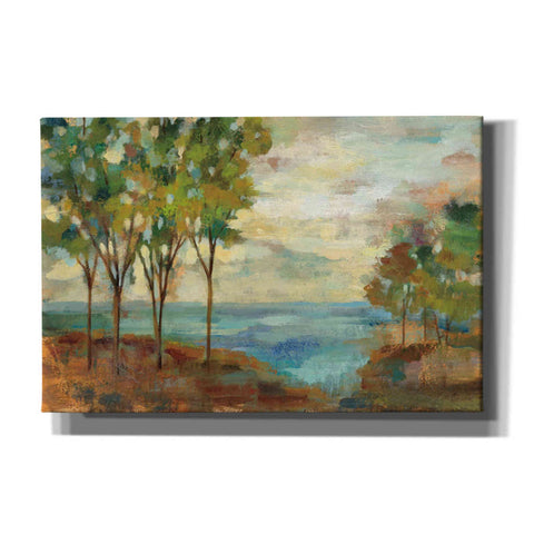 """View of the Lake"" by Silvia Vassileva, Giclee Canvas Wall Art"