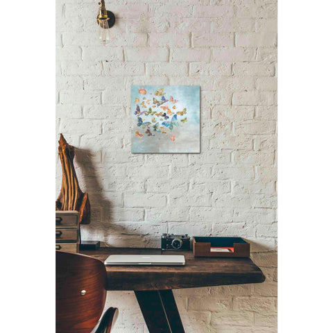 Image of 'Beautiful Butterflies v3 Square' by Danhui Nai, Canvas Wall Art,12 x 12