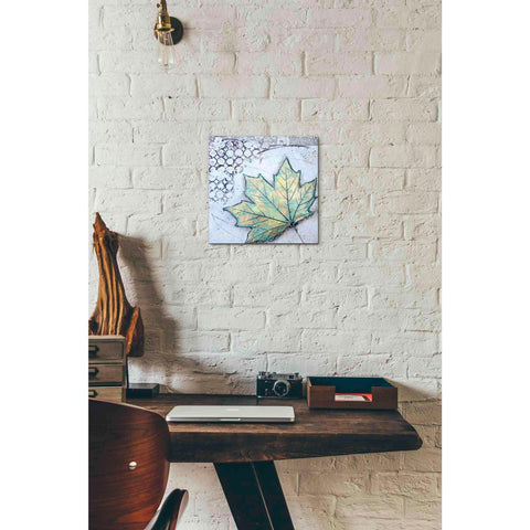 Image of 'Channeling Fall 2' by Britt Hallowell, Canvas Wall Art,12 x 12