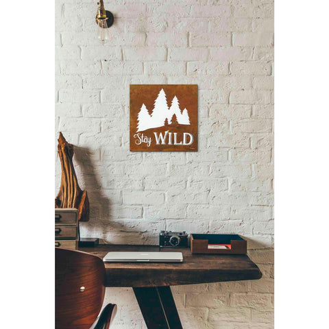 Image of 'Stay Wild' by Britt Hallowell, Canvas Wall Art,12 x 12