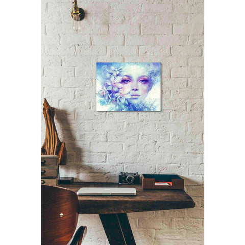 Image of 'December' by Anna Dittman, Canvas Wall Art,16 x 12