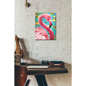 'Fabulous Flamingos I' by Carolee Vitaletti, Giclee Canvas Wall Art