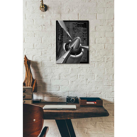 Image of 'Vintage Plane I' by Ethan Harper Canvas Wall Art,12 x 16