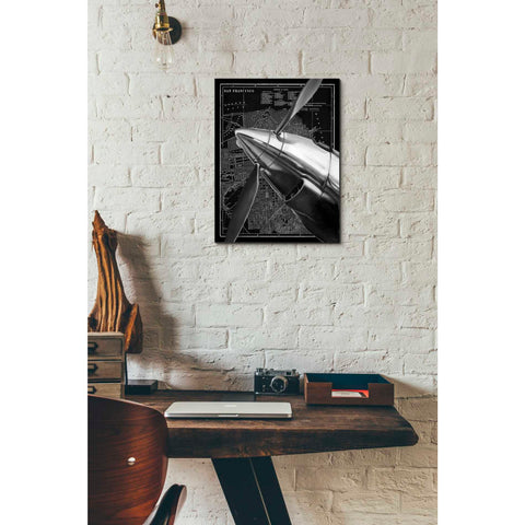 'Vintage Plane II' by Ethan Harper Giclee Canvas Wall Art