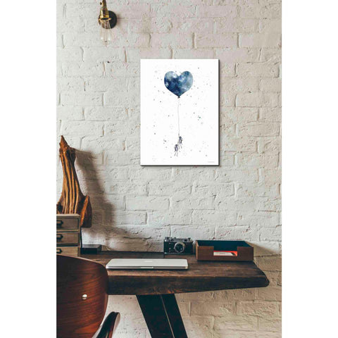 'Heart on Balloon' by Rachel Nieman, Giclee Canvas Wall Art