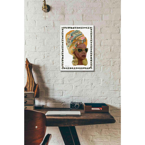 'Side Portrait 1' by Stellar Design Studio, Giclee Canvas Wall Art