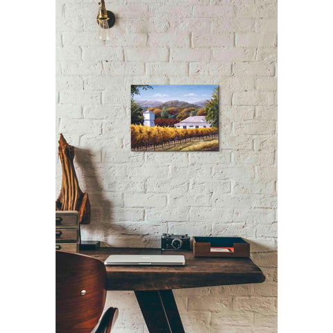 Image of 'Autumn and the Water Tower' by Barbara Felisky, Giclee Canvas Wall Art