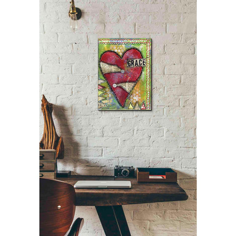 """Grace Heart"" by Denise Braun, Giclee Canvas Wall Art"