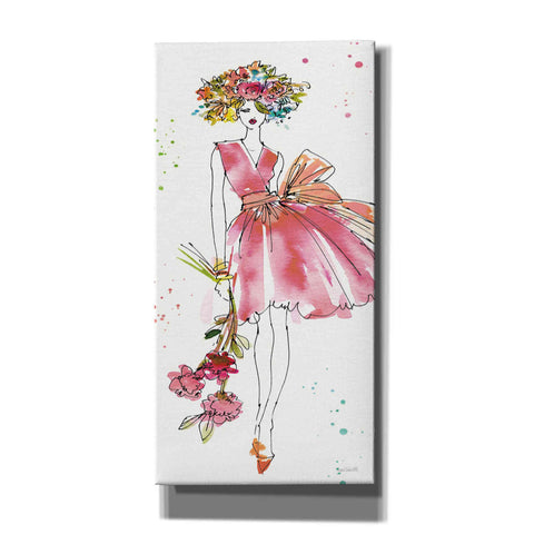 Image of 'Floral Figures V' by Anne Tavoletti, Giclee Canvas Wall Art