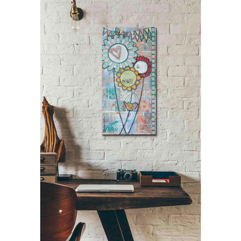 'Heart & Soul' by Denise Braun, Canvas Wall Art,12 x 24