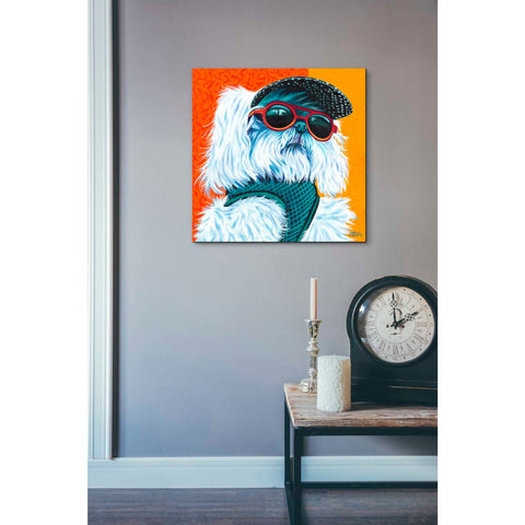 Image of 'Cute Pups IV' by Carolee Vitaletti, Giclee Canvas Wall Art