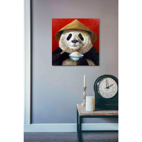 Image of 'Panda' by Lucia Heffernan, Canvas Wall Art,18 x 18