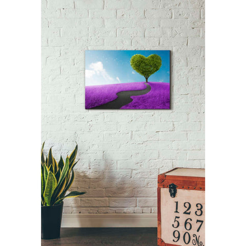 'Follow Your Heart ' Giclee Canvas Wall Art