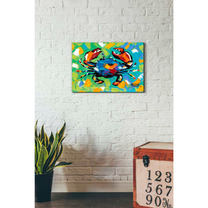 'Seaside Crab II' by Carolee Vitaletti, Giclee Canvas Wall Art