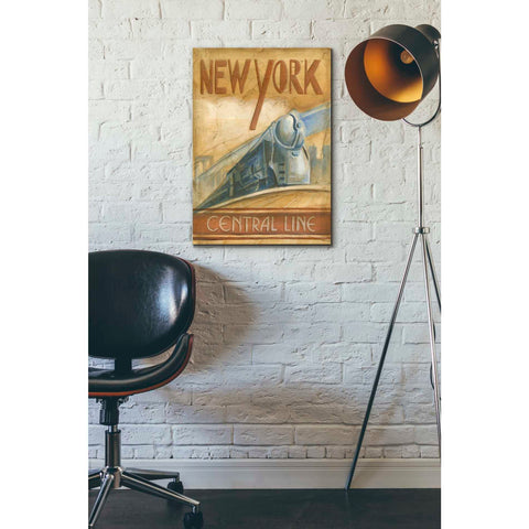 'New York Central Line' by Ethan Harper Giclee Canvas Wall Art