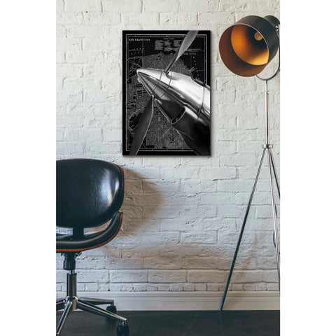 'Vintage Plane II' by Ethan Harper Canvas Wall Art,18 x 26