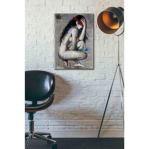 Image of 'Blindfold' by Loui Jover, Giclee Canvas Wall Art