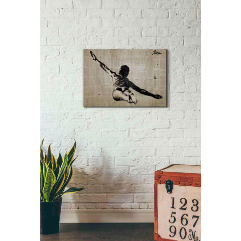 Image of 'Flying Free Man' by Loui Jover, Giclee Canvas Wall Art