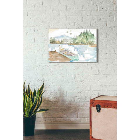 Image of 'Lakehouse I' by Anne Tavoletti, Canvas Wall Art,26 x 18