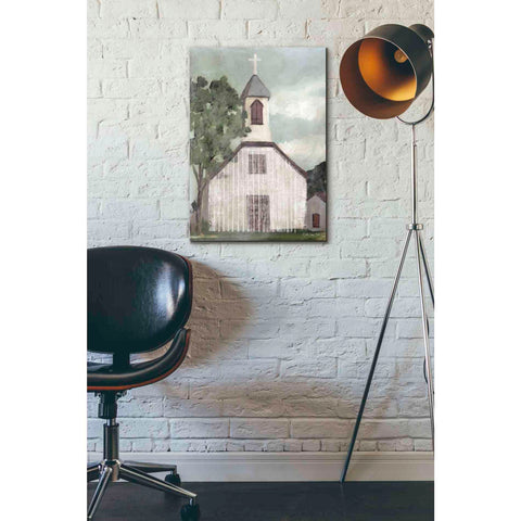 Image of 'Church 2' by Stellar Design Studio, Giclee Canvas Wall Art