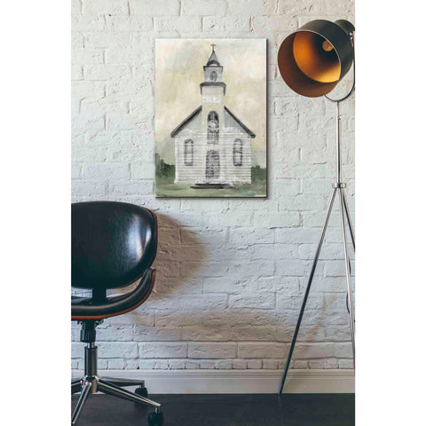 Image of 'Church 4' by Stellar Design Studio, Giclee Canvas Wall Art