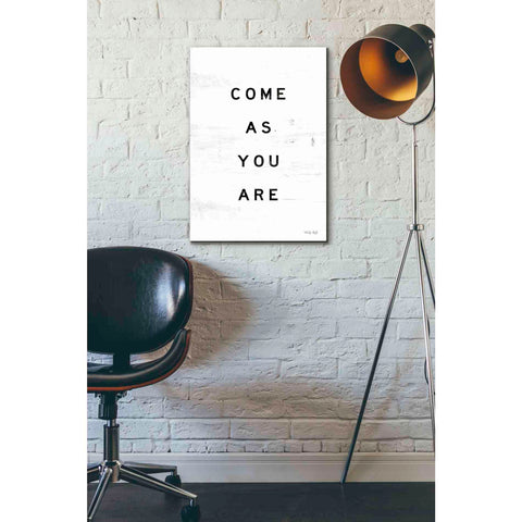 'Come As You Are' by Cindy Jacobs, Giclee Canvas Wall Art