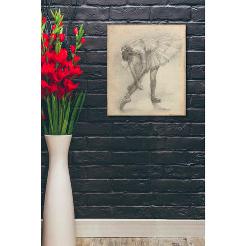 Image of 'Antique Ballerina Study II' by Ethan Harper Canvas Wall Art,20 x 24