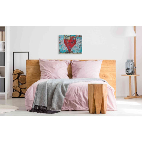 'Love Heart' by Denise Braun, Giclee Canvas Wall Art