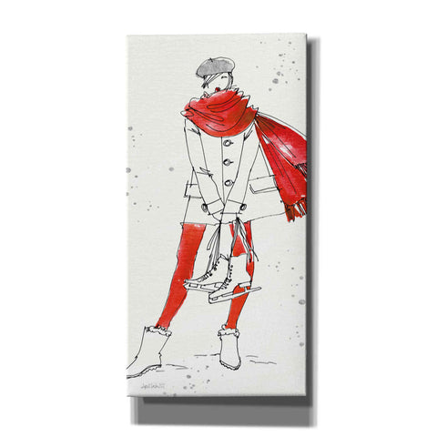 Image of 'Winter Fashion IV' by Anne Tavoletti, Giclee Canvas Wall Art