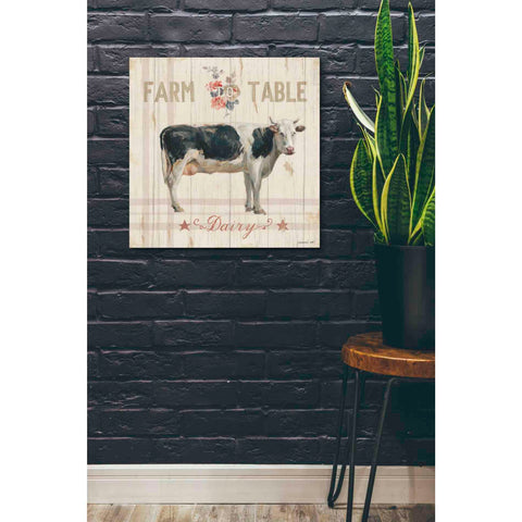 Image of 'Farm Patchwork V' by Danhui Nai, Giclee Canvas Wall Art