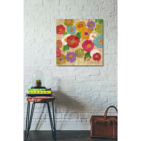 """Bohemian Bouquet III"" by Silvia Vassileva, Giclee Canvas Wall Art"