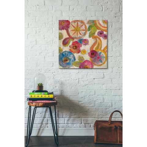 """Bohemian Summer II"" by Silvia Vassileva, Giclee Canvas Wall Art"