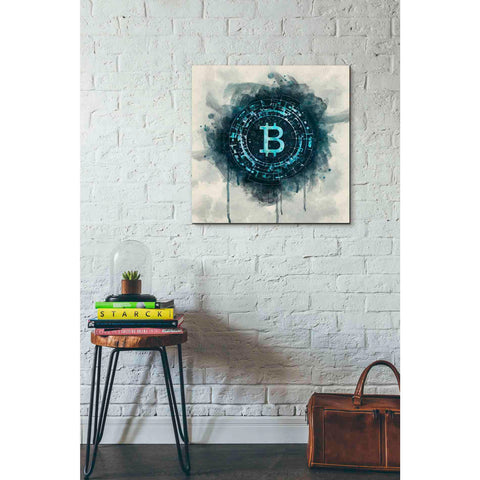 Image of 'Bitcoin Era' by Surma and Guillen, Giclee Canvas Wall Art