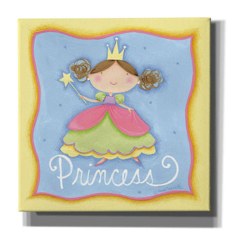 Image of 'Princess' by Anne Tavoletti, Canvas Wall Art,26 x 26