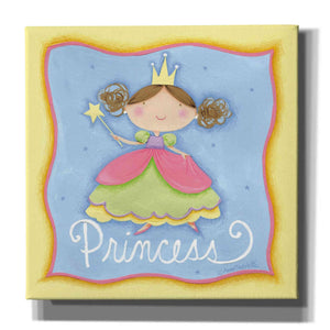'Princess' by Anne Tavoletti, Canvas Wall Art,26 x 26