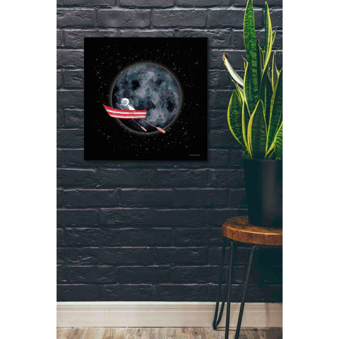 'Sail to the Moon' by Rachel Nieman, Canvas Wall Art,26 x 26
