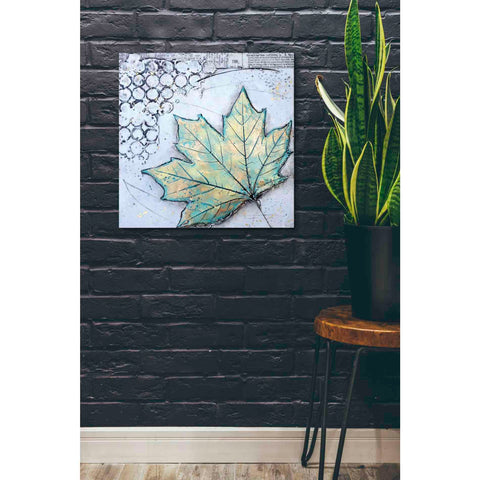 Image of 'Channeling Fall 2' by Britt Hallowell, Canvas Wall Art,26 x 26