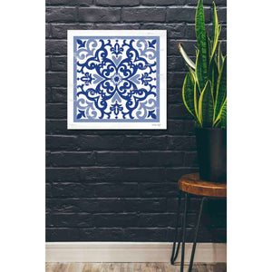 'Blue Tile VI' by Cindy Jacobs, Giclee Canvas Wall Art