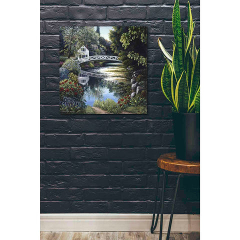 Image of 'Bridge Reflection' by Barbara Felisky, Giclee Canvas Wall Art